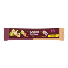 Имбирный батончик фруктово-ореховый