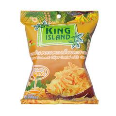Кокосовые чипсы с карамелью
