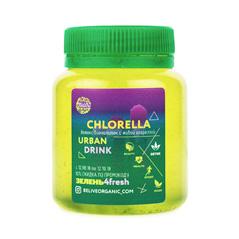 Бионапиток с живой микроводорослью хлорелла
