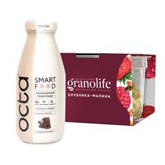 Гранола или молочный напиток