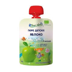 Пюре «Яблоко», для детей с 6 месяцев