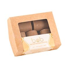 Батончик шоколадно-ореховый, светлый