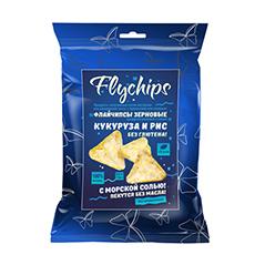 Флайчипсы кукурузно-рисовые с солью, зерновые