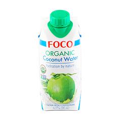 Кокосовая вода 100% натуральная, без сахара