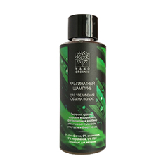 Мини-шампунь для увеличения объема волос, альгинатный