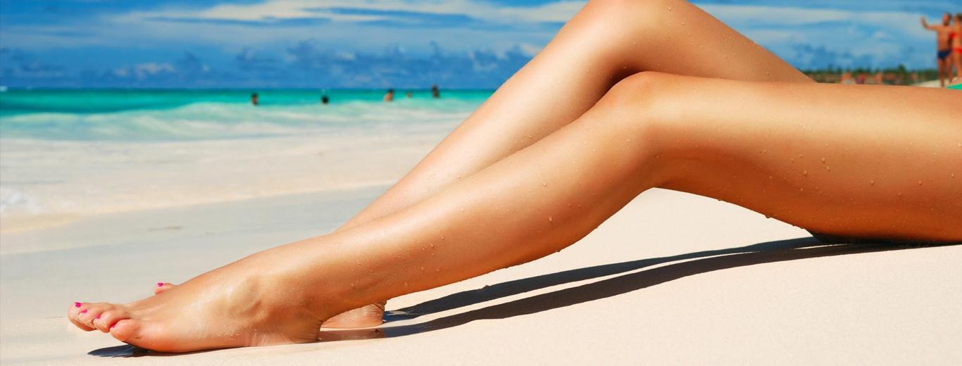 Как сделать ноги загорелыми в фотошопе