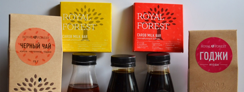 Продукция Royal Forest